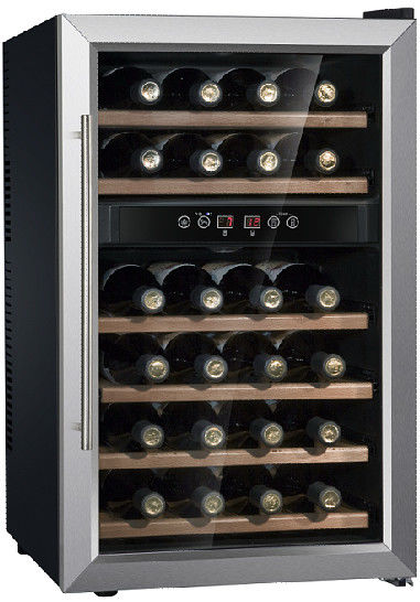 BW-65D1 Wine Cooler Commercial Refrigerator Freezer With Humanization Lock Design