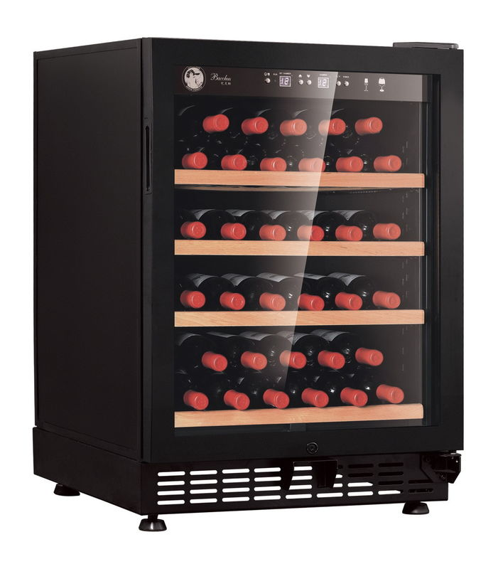 YC-103B Wine Cooler Commercial Refrigerator Freezer With Odour Removed Activated Carbon